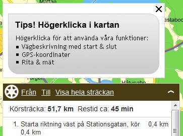 Märsta Enköping via eniro punkt se bild 2