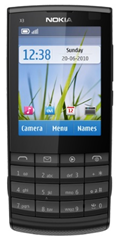 Nokia X3 Svart