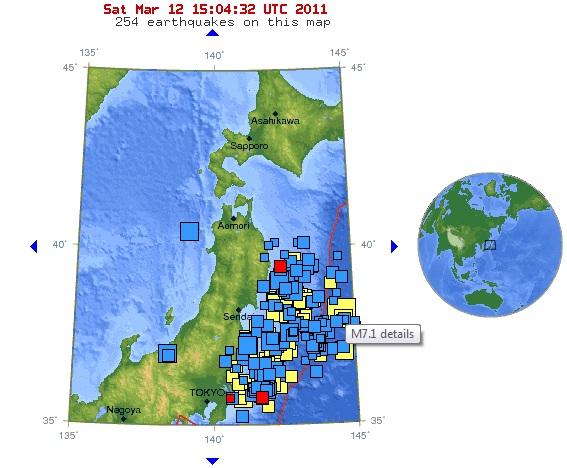 Japan Jordbävning 2