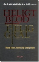 Heligt Blod Helig Gral
