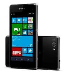 Sony med WP8