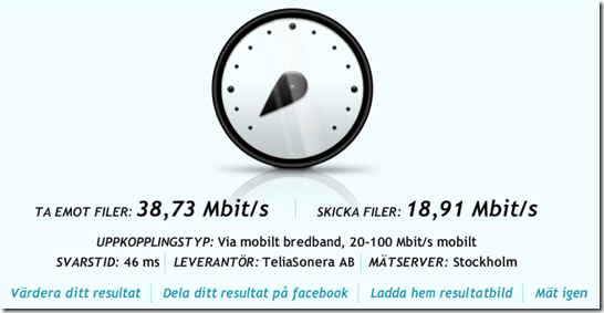Bredbandskollen Bjurs 4G-modemet